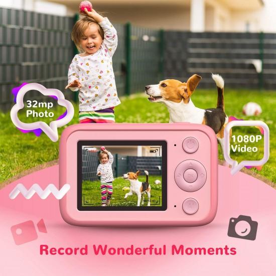 Aicam Kids Camera - Pink