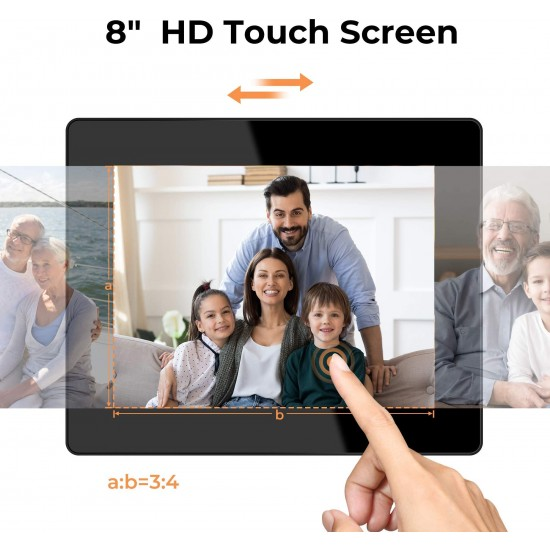 Dragon Touch Classic 8 Digital Picture Frame