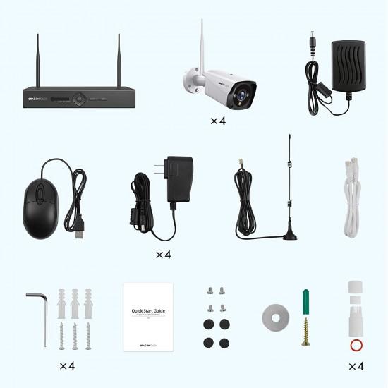 K4W10 WiFi Security Camera