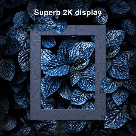 Modern 10 Aqua 2K Digital Picture Frame