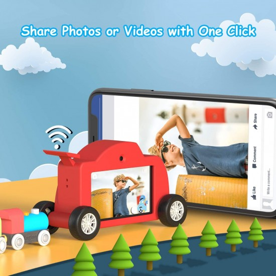 WT01 Kids Touch Screen Camera