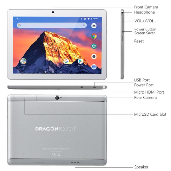 Notepad K10 10.1 Android Tablet