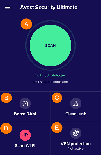 Avast for Tablet