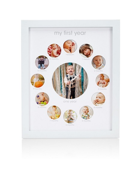 Pearhead First-Year Baby Photo Frame