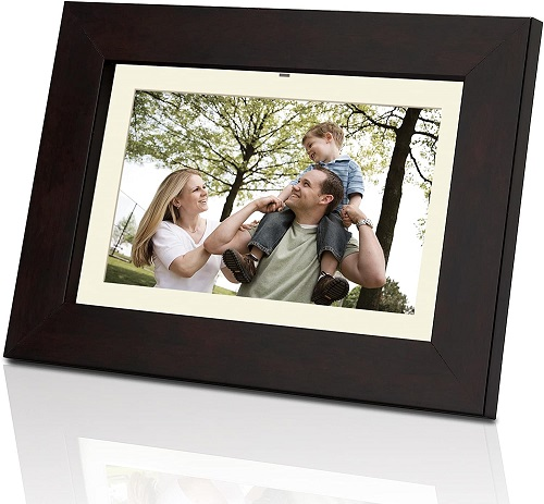 Coby 7-Inch Small Electronic Photo Frame