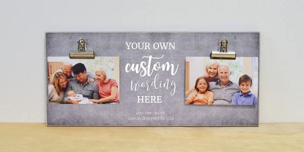 Family Picture Frames with Sayings