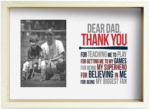 Baseball Premier Frame for Dad