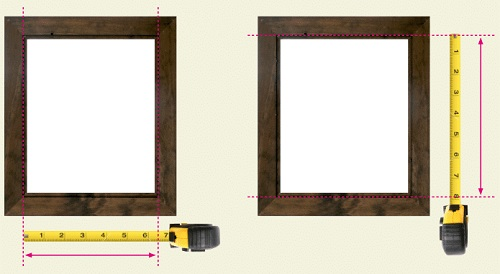 Measure Picture for Frame