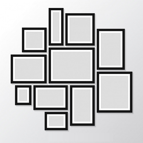 Picture Frames of Different Sizes