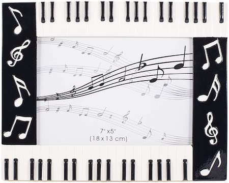 Music Notes Picture Frame