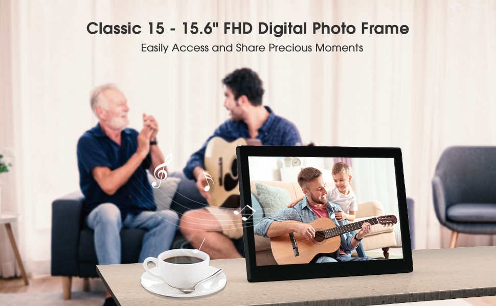 Classic 15 Digital Picture Frame