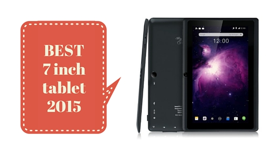 best 7 inch android tablet 2015