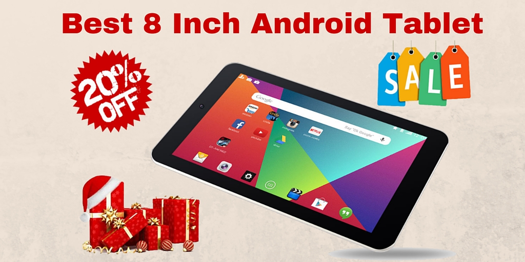 Best-Selling 8 Inch Android Tablet Under $200