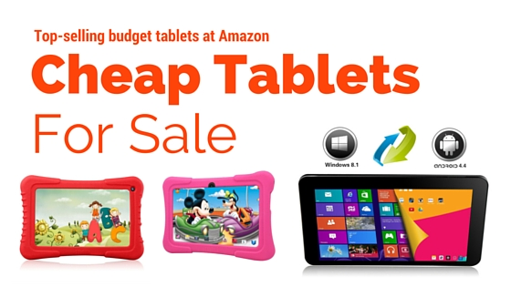 cheap android tablets under 100