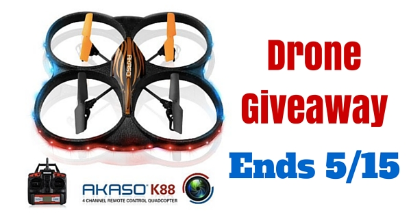 TabletExpress drone giveaway